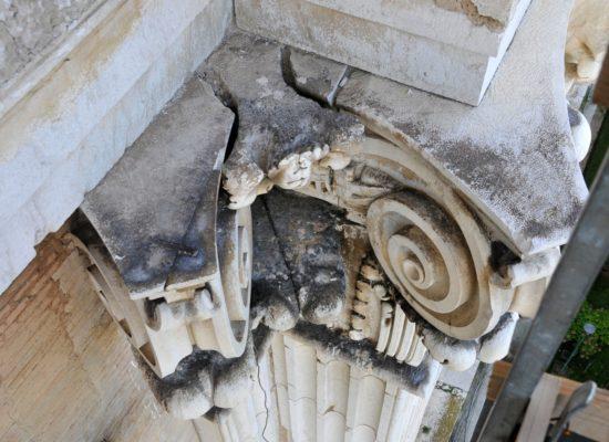 Reggia di Caserta, geologi per curare le pietre