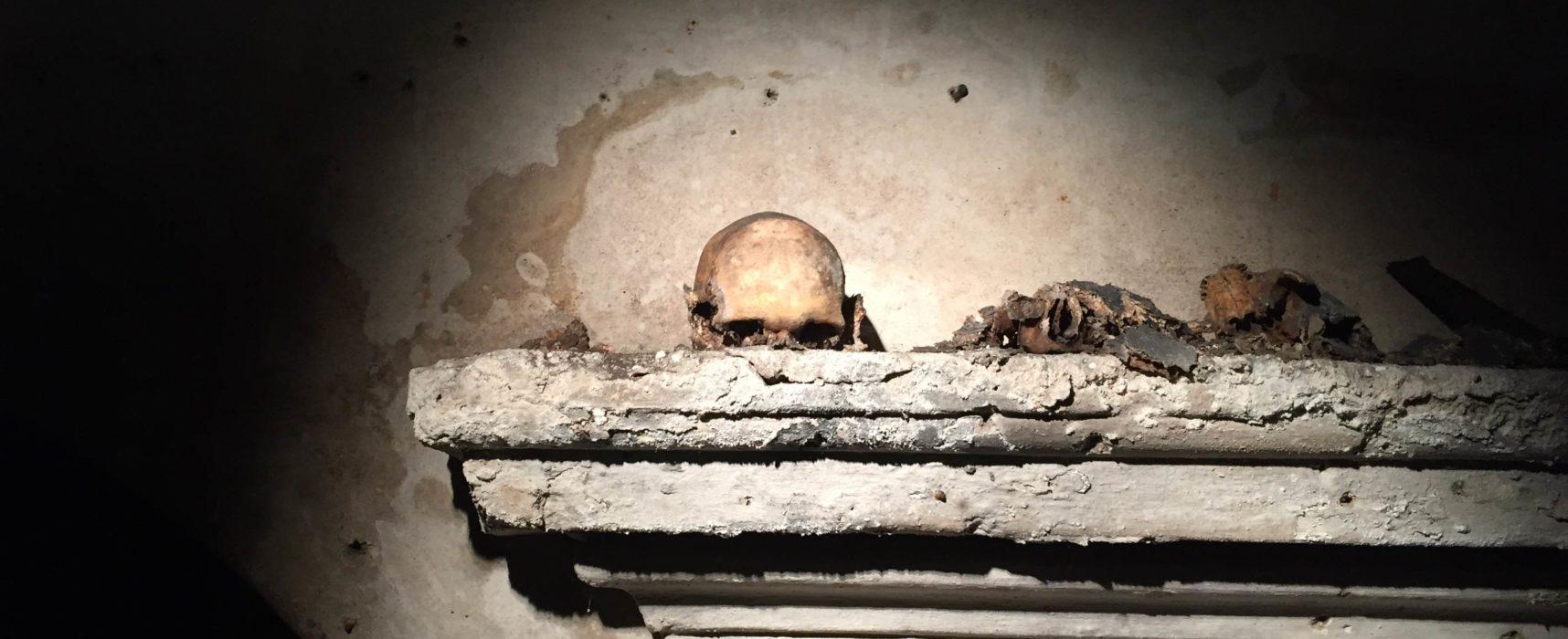 Il teschio con le orecchie che unisce i vivi ai morti