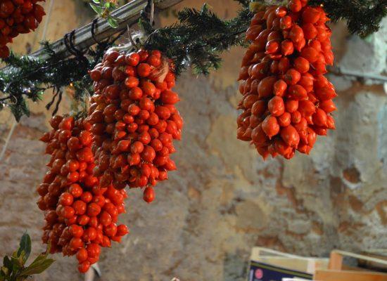 Vico Soprammuro, la via del Food di Natale