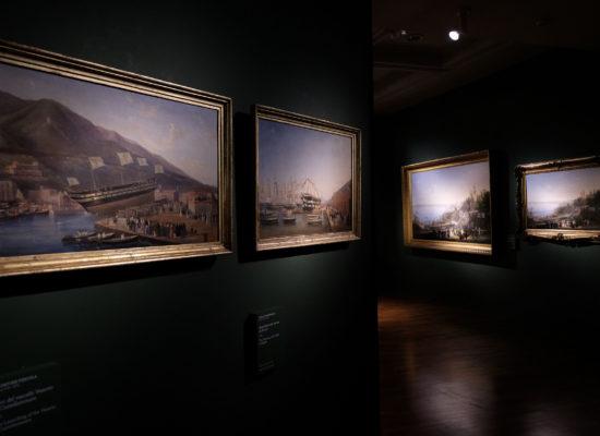 Napoli nei quadri di Fergola, ultimo pittore di corte