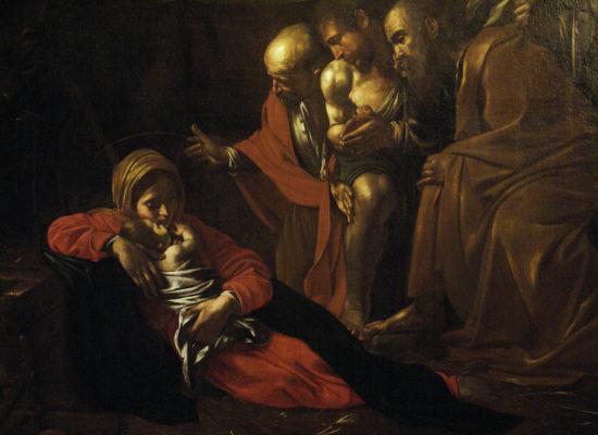 Madre espone la Natività di Caravaggio