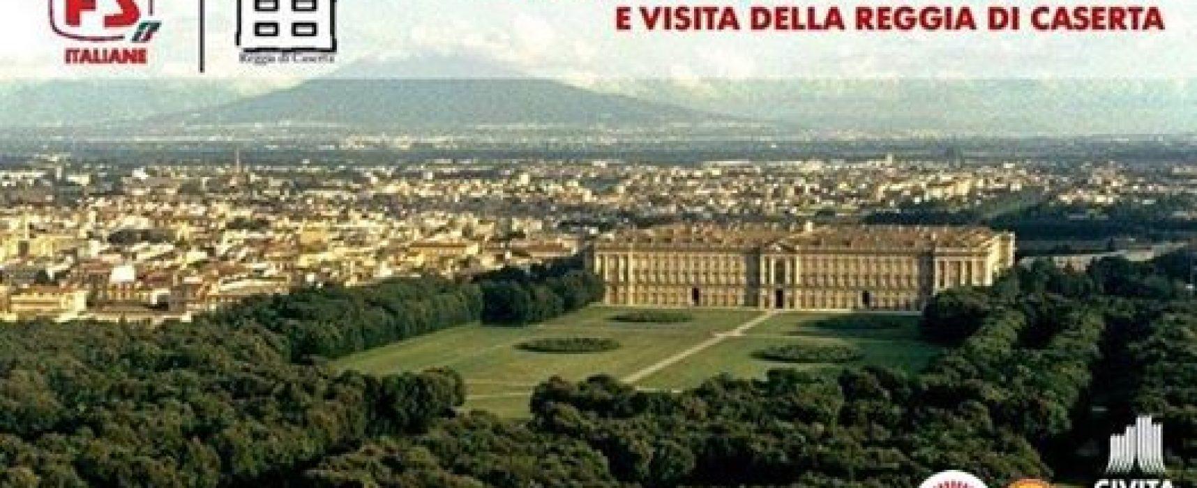 Reggia Caserta, ritorna il viaggio Express