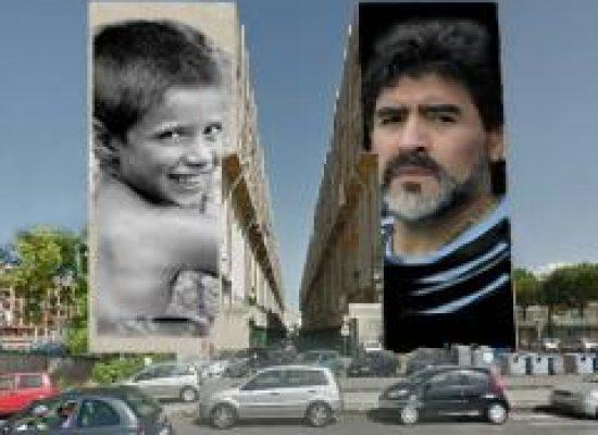 Maradona al via il  più grande murales del mondo