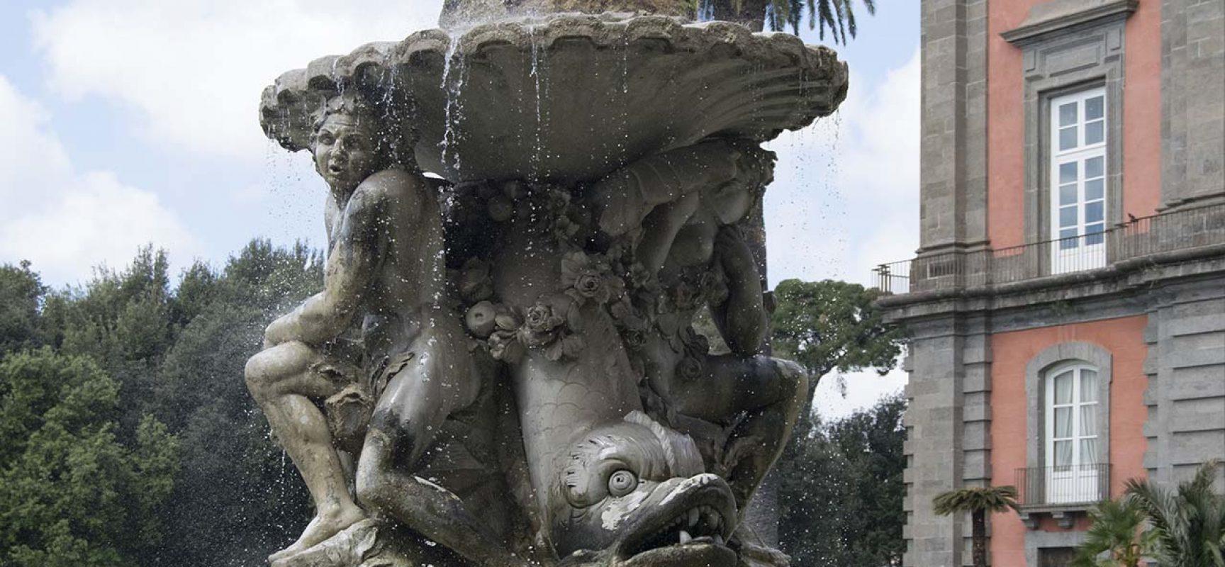SOS FONDI CAPODIMONTE per restauro fontana
