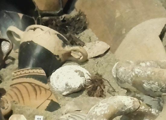 Pompei svela i reperti del porto di Neapolis