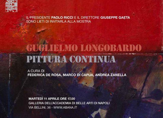 Accademia Belle Arti in mostra Guglielmo Longobardo