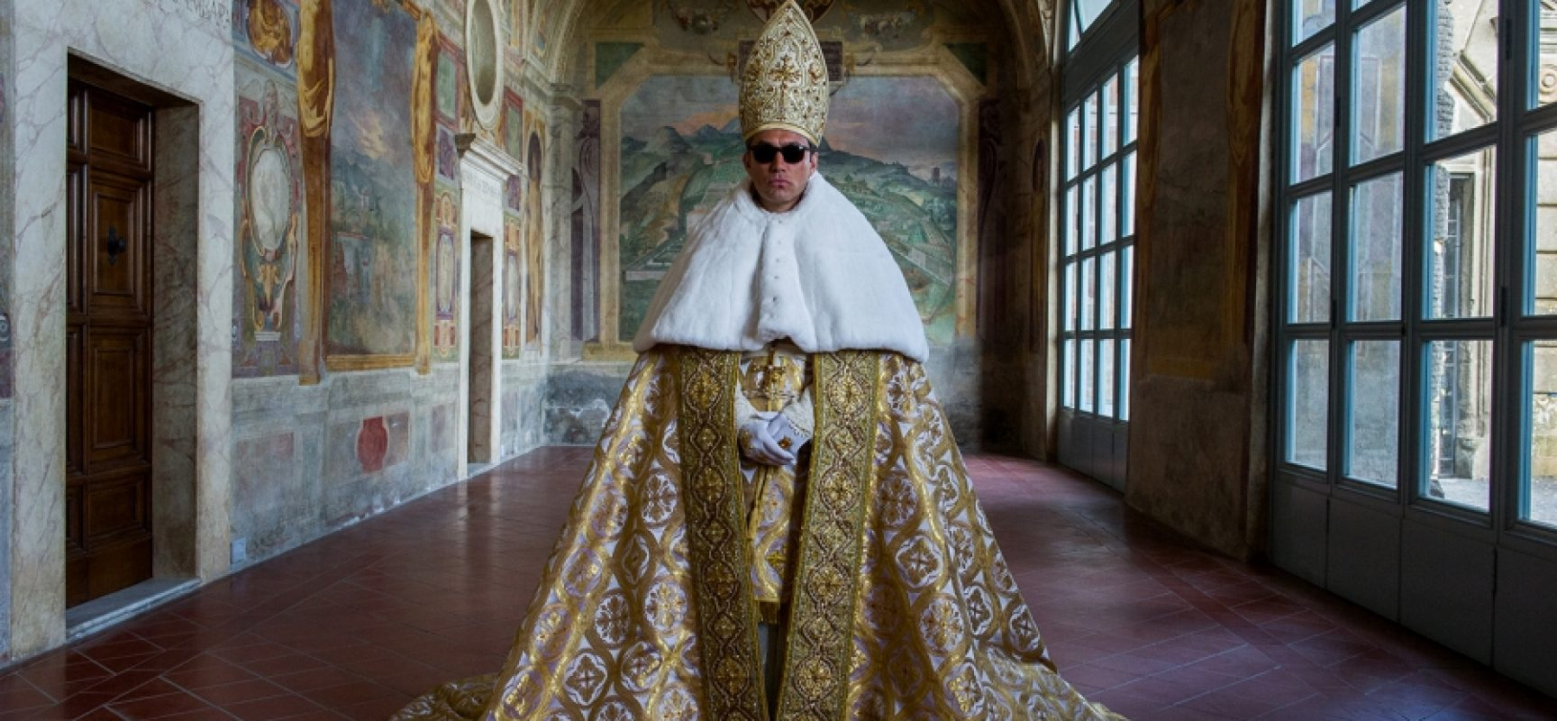 The Young Pope in mostra a Palazzo Reale