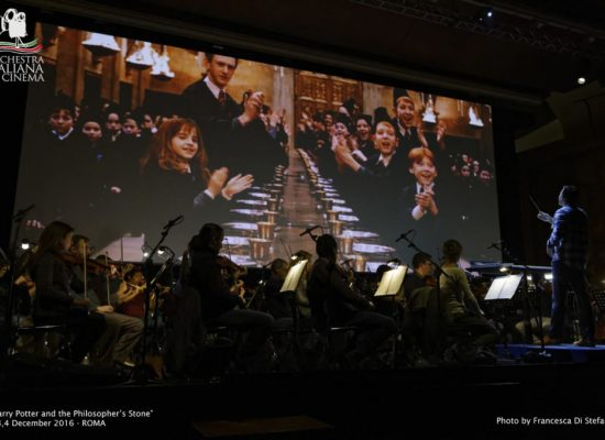 ETES Arena Flegrea, Harry Potter e la Pietra Filosofale