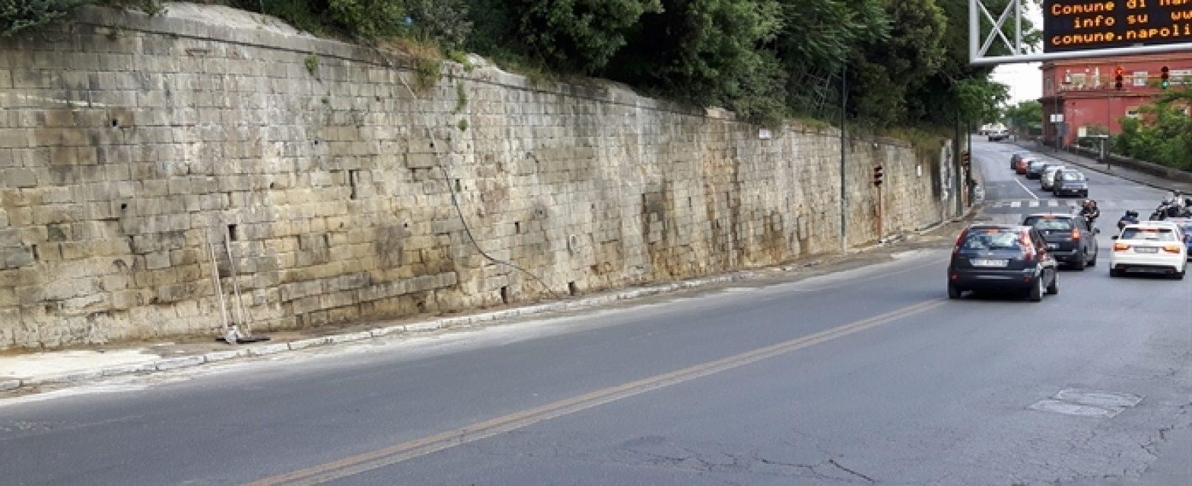 Bosco di Capodimonte pronto Restyling muro di cinta
