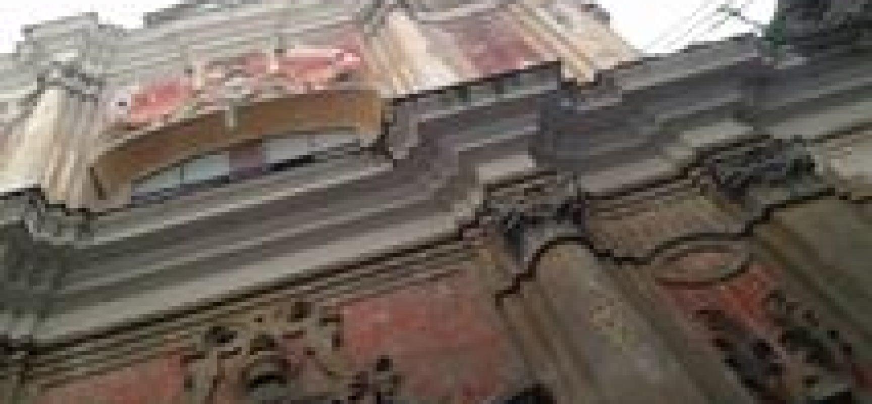 Santa Maria di Vertecoeli, IL RESTAURO DELLA FACCIATA