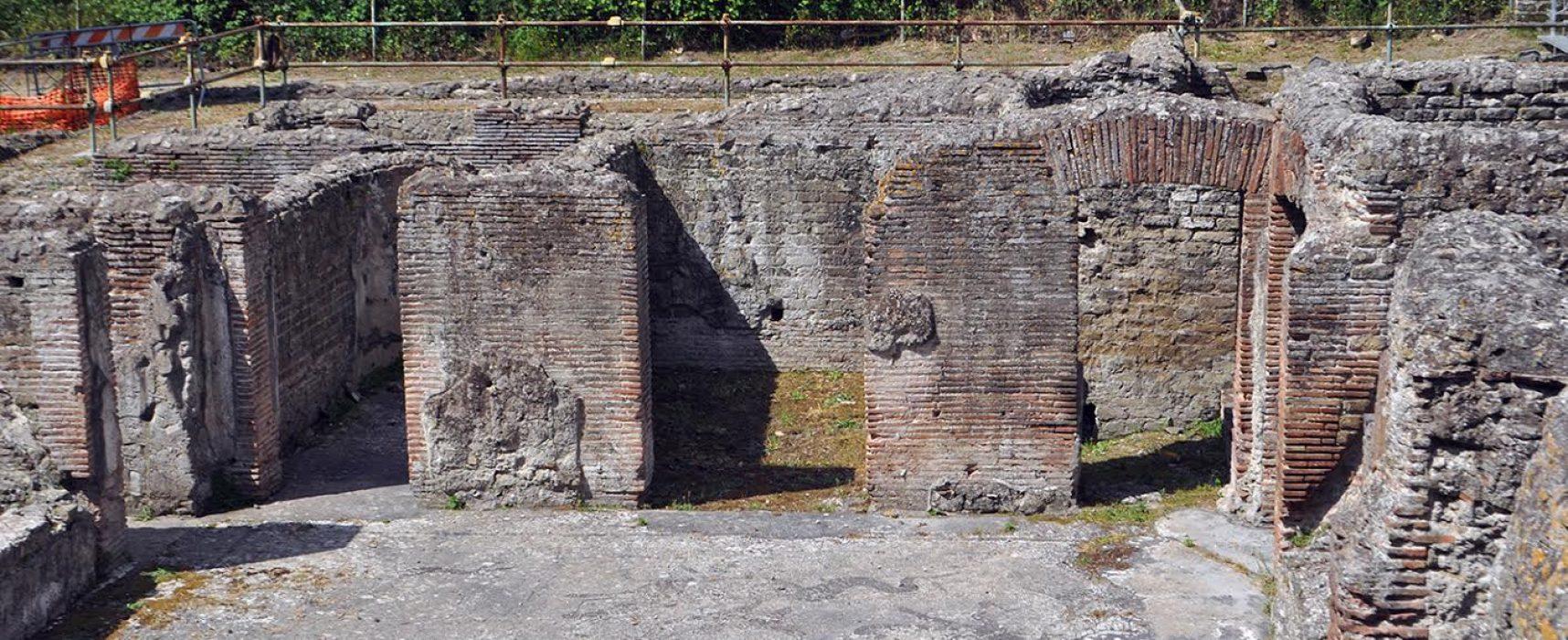 Terme via Terracina, al via visite guidate