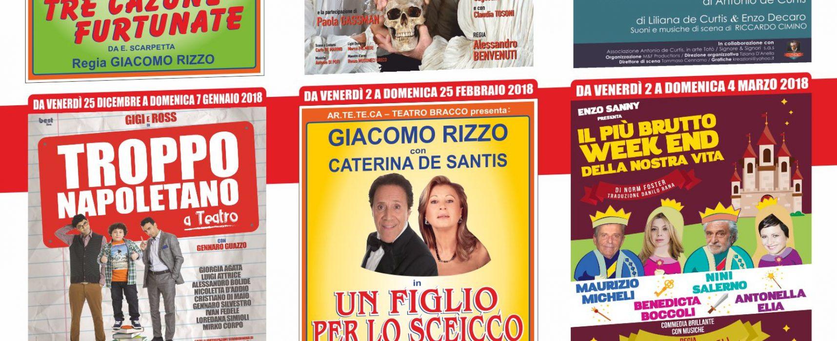 Teatro Bracco, tante le novità del cartellone 2017-2018