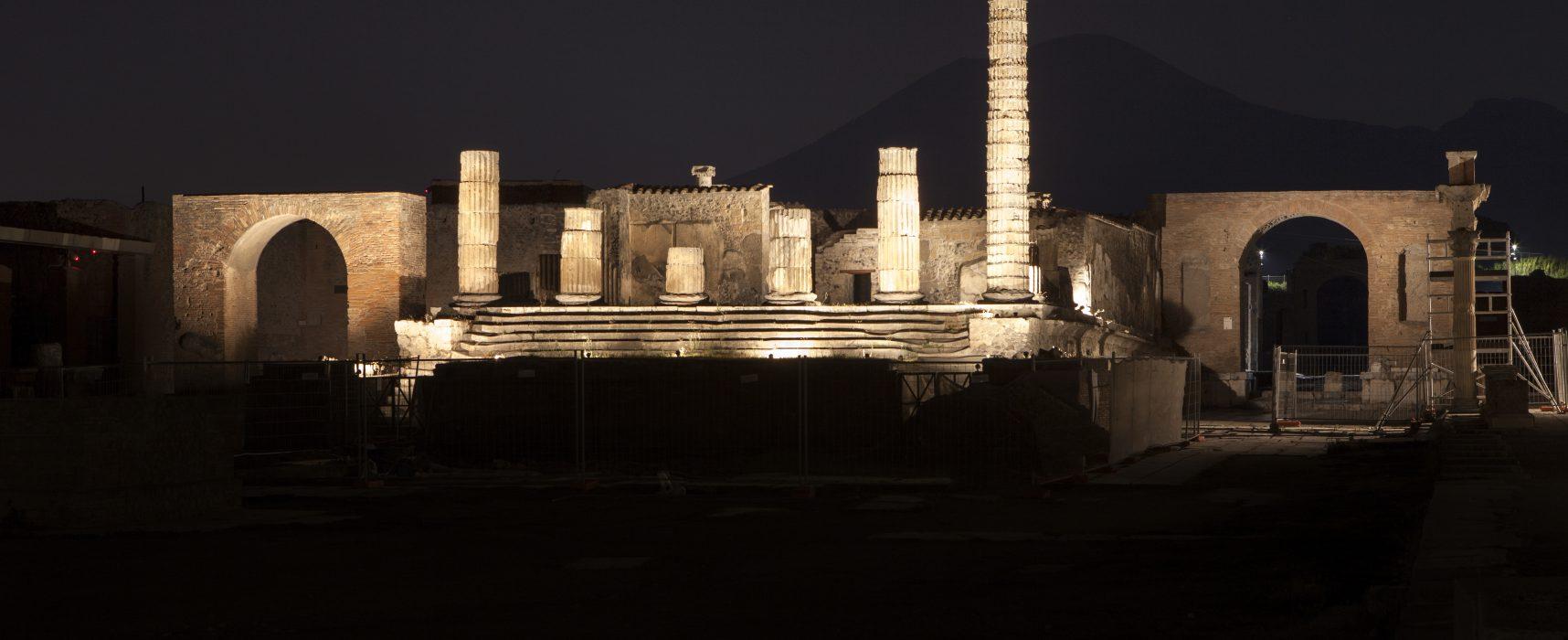 Pompei nuove luci