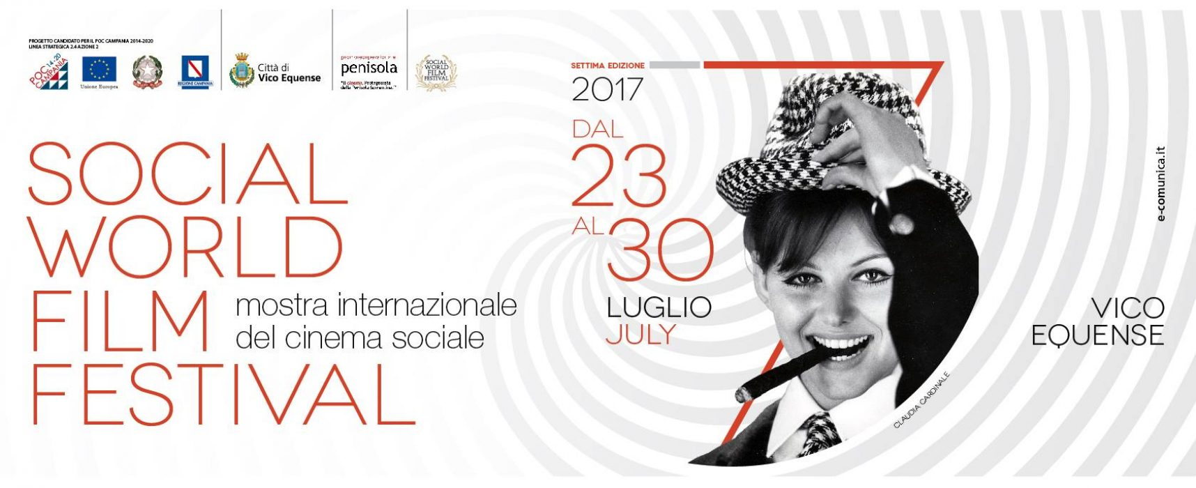 Al via il Social World Film Festival 2017