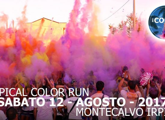 MONTECALVO IRPINO SI COLORA CON MY COLOR RUN