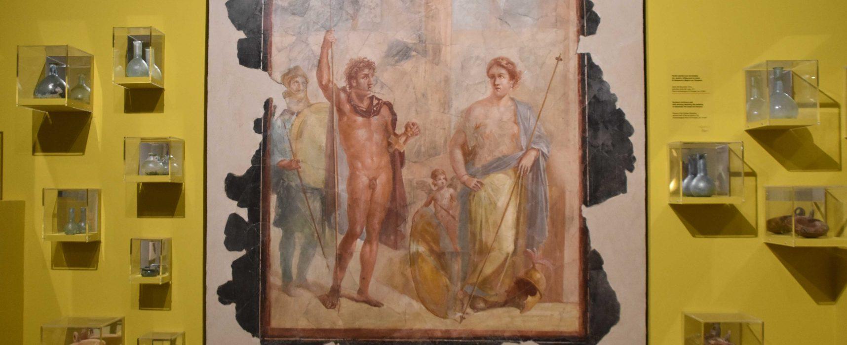 Pompei, in mostra i tesori sotto i lapilli