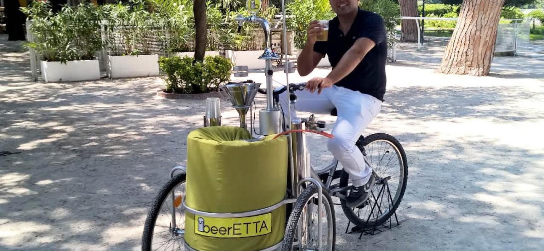 In Bicicletta A Sorsi Di Birra Arriva A Napoli Beeretta Napoli