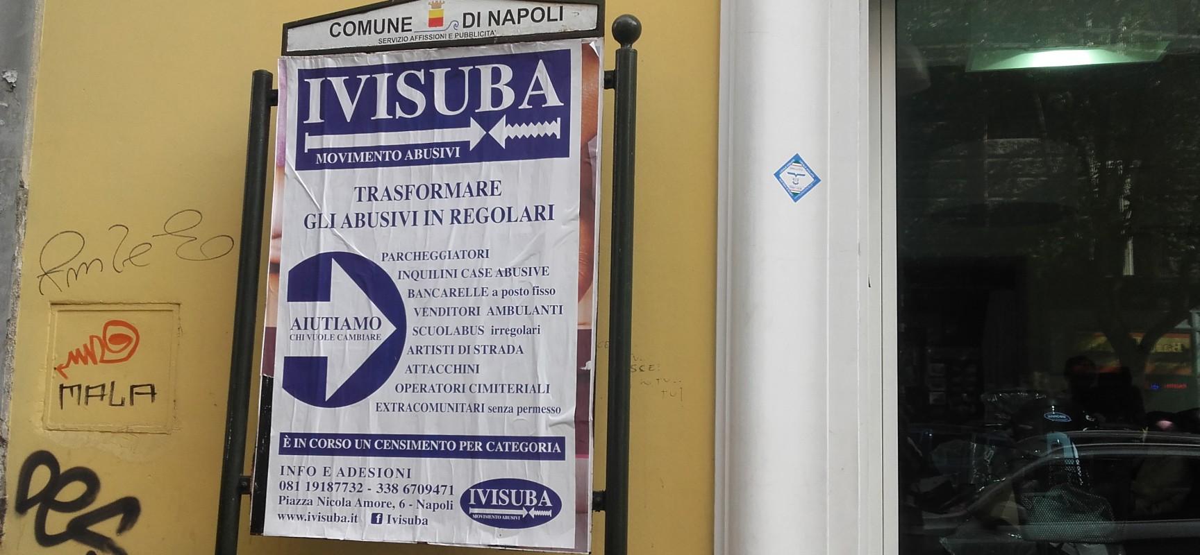 A Napoli nasce il movimento degli Abusivi   Napoli Post ...