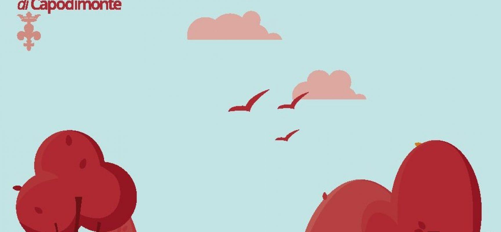 capodimonte una panchina rossa contro violenza donne napoli post notizie politica cronaca turismo e cultura in campania capodimonte una panchina rossa contro