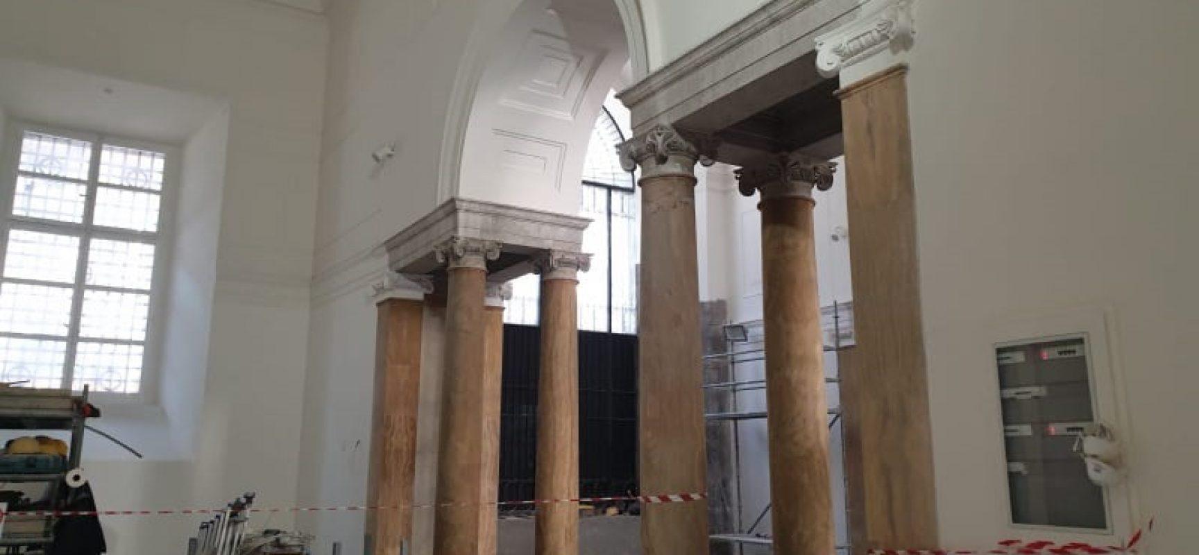 Cucine Usate Campania Napoli cantiere mann, presto nuove sale per statue campania antica